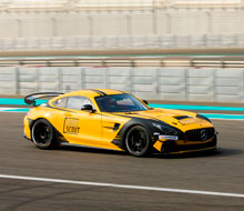 Mercedes Benz GT4 at Yas Marina Circuit – Dubai Automotive Videographer